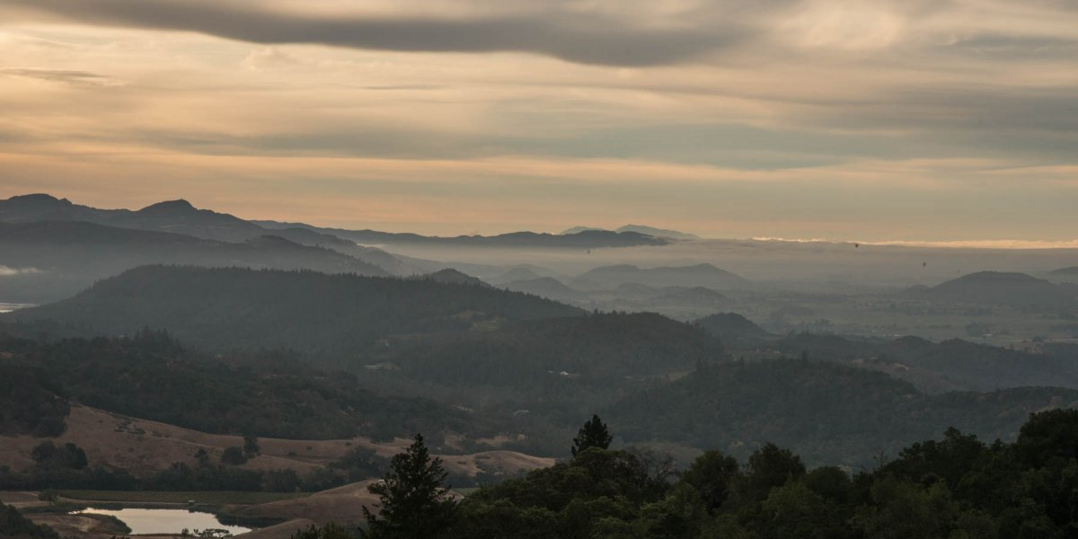 La Jota Hills and Howell Mountain