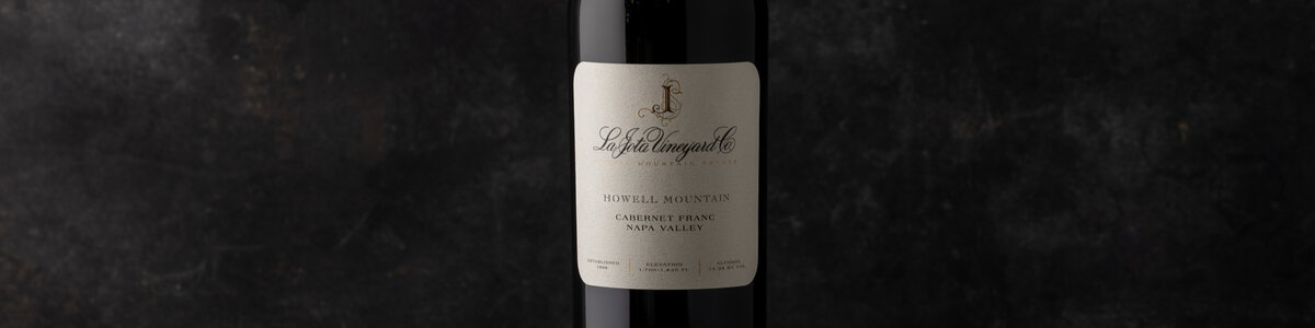 2016 La Jota Vineryard Co Howell Mountain Cabernet Franc