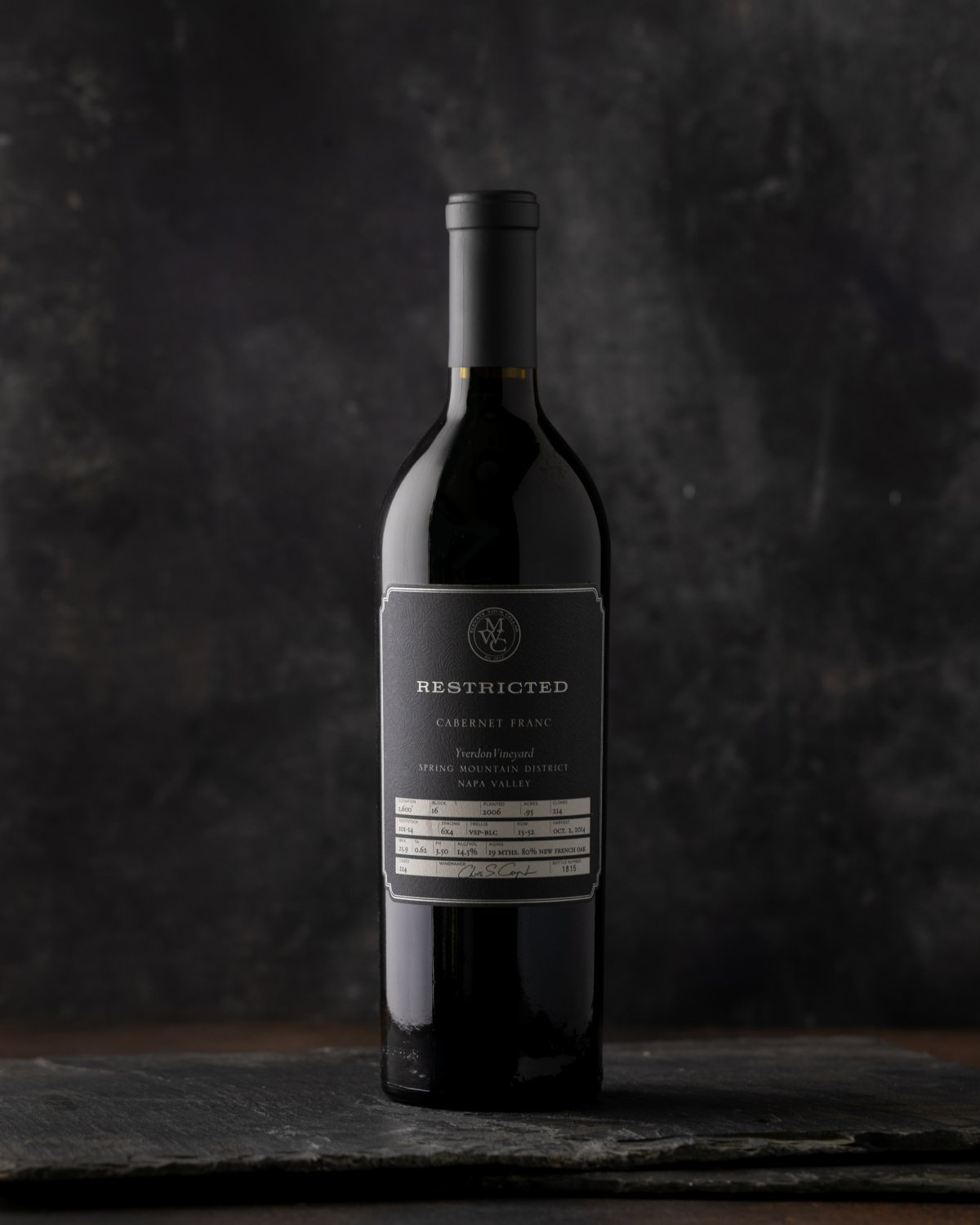 2012 Restricted SPM Cabernet Franc