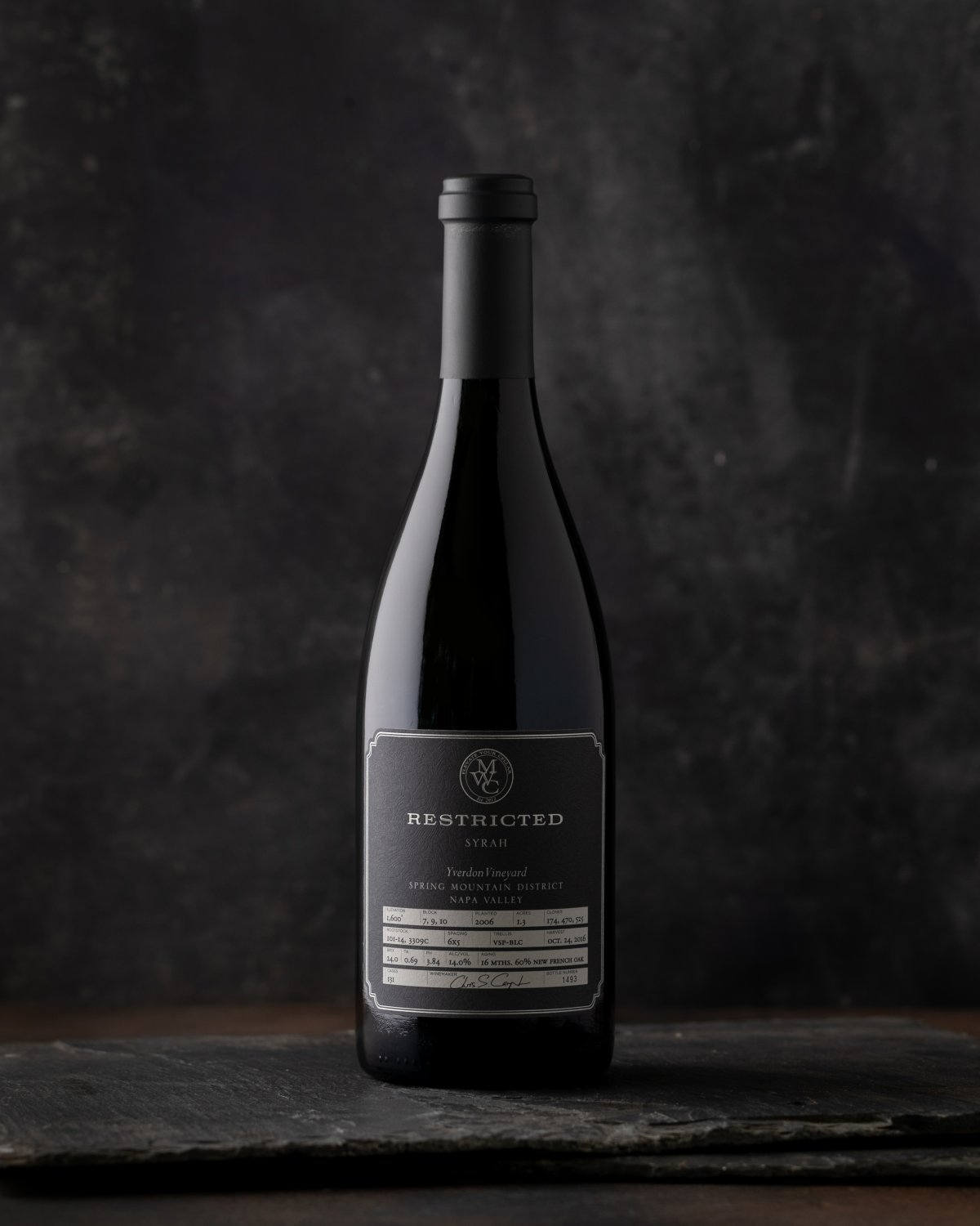 2014 Restricted Spring District Syrah