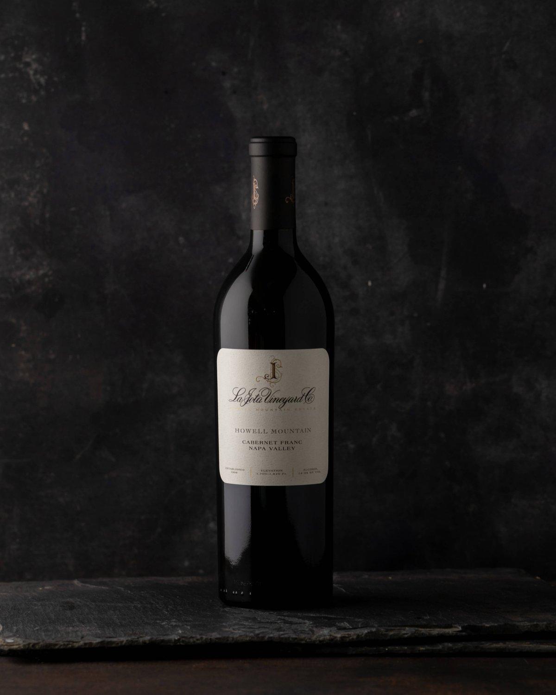 La Jota Cabernet Franc bottle