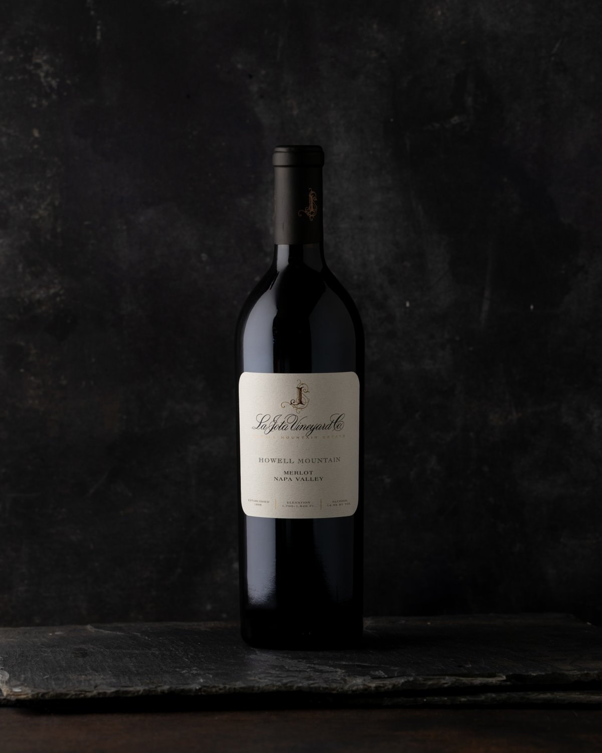 2010 La Jota Howell Mountain Merlot