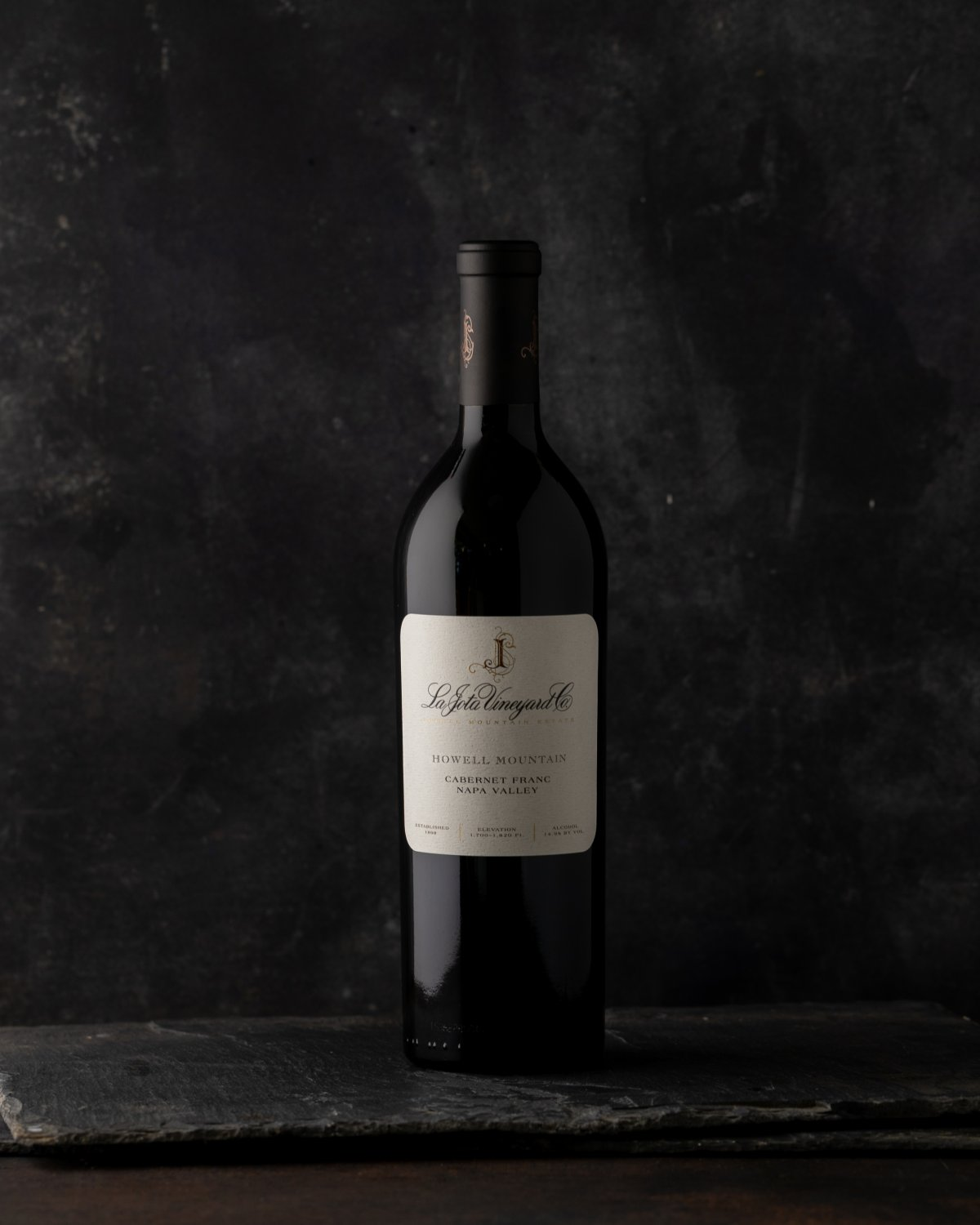 2014 La Jota Vineryard Co Howell Mountain Cabernet Franc